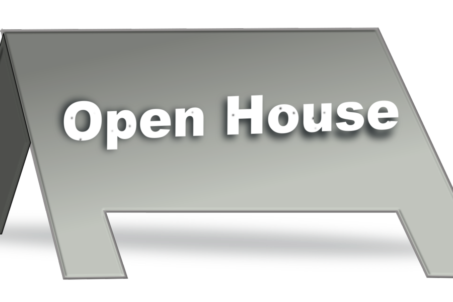 OPEN HOUSE JANUARY 18th 6pm-7:30pm